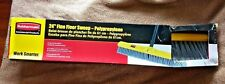 """Rubbermaid Commercial 24"""" Fine Floor Sweep Polypropylene Push Broom Head only"""