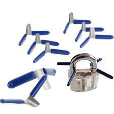 10pcs/6pcs Universal Pad Lock Shims Lock Picks Portable Lock Locksmith Tools