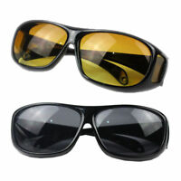 2X HD Vision Driving Sunglasses Wrap Around Glasses As Seen Anti Glare UV On TV
