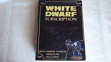 WH40K  LIMITED EDITION WHITE DWARF SUBSCRIPTION 2008 SPACE MARINE VETERAN NIB