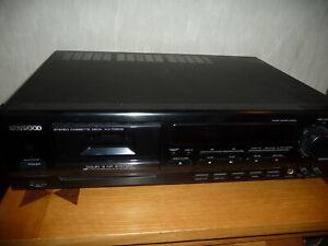 Kenwood KX7050S 3 head Dolby S cassette deck (needs new belts)