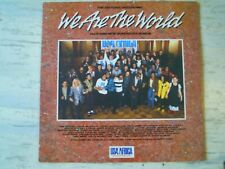 Usa For Africa - WE ARE THE WORLD (Lp) Press EUROPE 1985 Gatefold