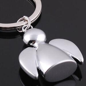 Dolls keychains lovely angel keyrings woman bag charms car key rings key holder