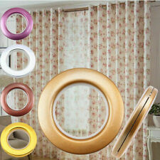 1/8/10/40x Round Eyelet Curtain Rings Tape For Curtain Blinds Drapery Rod Lots