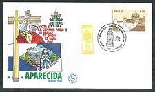 1980 VATICANO VIAGGI DEL PAPA BRASILE APARECIDA - EV
