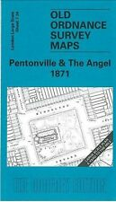 MAP OF PENTONVILLE & THE ANGEL 1871
