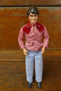 "Vintage Barbie Mattel 1968 12"" Ken Doll & Retro Clothing Taiwan Cowboy Clothing"