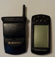 Motorola StarTac Black Cellular Phone w/ Clip-On Organizer 1.0