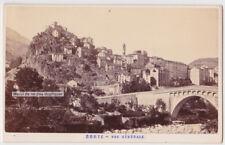 CDV CORSE CORTE c.1865. SUPERBE ÉTAT. ALEO et DAVANNE. XIXe, photo, Tartarini.