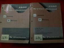 1997 GM FACTORY OLDS AURORA & BUICK RIVIERA SERVICE MANUAL SET OF 2 ALL MODELS