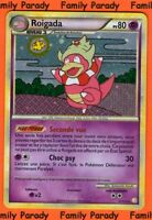Roigada Holo 80pv 12/123 HeartGold and Soulsilver Carte Pokemon Rare neuve fr