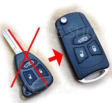 Transférer en Pliante -Coque PLIP Télécommande clé Chrysler 300C DODGE JEEP...