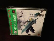 Final Fantasy VII 7 Brand New Factory Sealed Greatest Hits Playstation PS