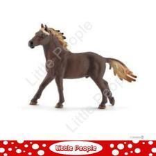 Schleich - Mustang stallion Horse Figurine Figure Farm Animal Toy