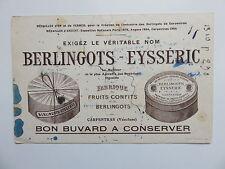 Buvard Berlingots Eysseric Carpentras Fruits confits