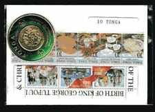 Tonga 10 timbres différents