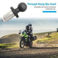 Yanten Aluminium Motorrad Fahrradhalter Gabelschaft mit Kugelkopf für RAM H