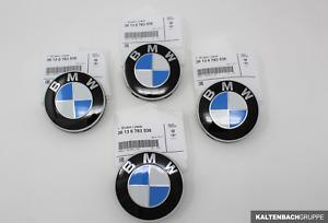 4x ORIGINAL BMW Nabendeckel Felgendeckel Ø 67 mm 1er 3er 5er 6er 7er 36136783536