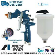 Anest Iwata AZ3 HTE S IMPACT Blue Flash Spray Gun Limited Edition 1.2mm Tip