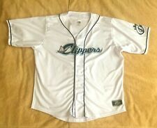 COLUMBUS CLIPPERS JERSEY MLB CLEVELAND INDIANS AAA TEAM BASEBALL JERSEY SIZE XL