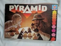 1978 Vintage Hasbro Pyramid Game (Mummy Classic) 100% COMPLETE Used Strategy