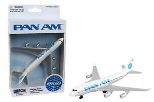 Pan Am Boeing 747 Airliner Toy Airplane Diecast with Plastic Parts