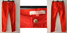 Jeans cotone stretch Donna Rosso