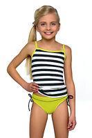 New Girls Tankini Bikini Beachwear Swimming Costume Swimwear Swimsuit Age 8-13