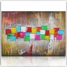 BRATIS ART Abstrakt Malerei Kunst Gemälde Bild Original Leinwand XXL Acryl 936G