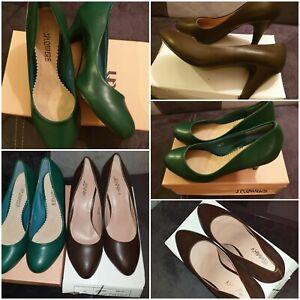 Women Flex Mid Heel Plump ladies court shoe Female stiletto shoes Size 37 UK 4.5