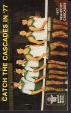 1977 Seaport Cascades Tennis Schedule 101717jh