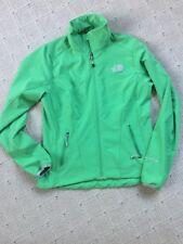 Women Size S Small The North Face green Apex TNF Fall Windbreaker Jacket Coat