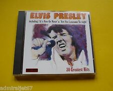 "CD "" ELVIS PRESLEY - 30 GREATEST HITS "" BEST OF (IT'S NOW OR NEVER)"