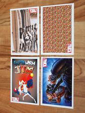 Old Collectible Card Earthworm Jim Aliens vs. Predator Nintendo Sega Genesis