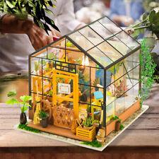 Robotime Miniature Dollhouse 1:24 Sunny Mini House Model Assembly Toy Girls Kids