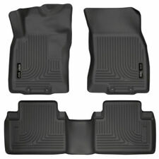 Husky Weatherbeater Fits 2014-2019 Nissan Rogue Front & Rear Floor Mats 98671