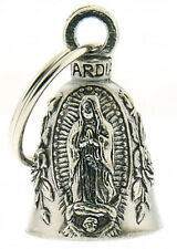 Virgin Mary Guardian Bell Motorcycle Ride Gremlin Bell + Pouch #1090 Made in USA