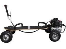 ScooterX Gas Skateboard 49cc Black SkaterX Wood Deck Grip Auto Clutch 25 MPH Max