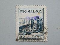 Sello Local Guerra Civil Borge Málaga nº137* SL 3109