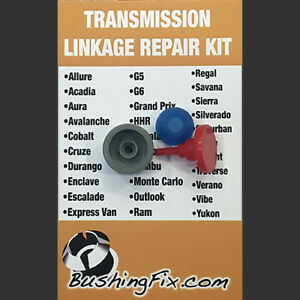 Chevrolet Traverse Transmission Shift Cable Repair Kit w/ bushing Easy Install
