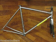 LITESPEED CLASSIC TITANIUM TI ROAD BIKE FRAME SET 53CM SMALL REYNOLDS UOZO PRO