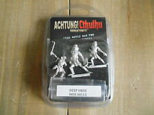 ACHTUNG! CTHULHU - Profundos - rol - miniaturas 28 mm. WWII
