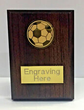 Football Wooden Plaque - With FREE Engraving + FREE P&P