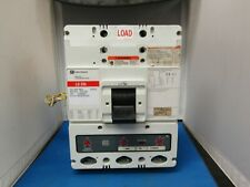 CUTLER-HAMMER INDUSTRIAL CIRCUIT BREAKER  LD3600F 600 AMP 600 VOLT 3 POLE W/ SHU
