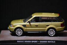 "Range Rover Sport L320 James Bond ""Casino Royale"" diecast car in scale 1/43"