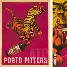 Poetry in a Bottle by Luke Stockdale Vintage Kitchen Wine Print Poster 11x14