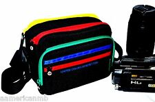 Video Camera Shoulder Bag Case Padded Sony Handycam Camcorder Canon Nikon UCB