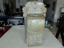 Vintage Reproduction Metal Mail Box
