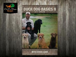 AVERY CHRIS AKIN DUCK DOG BASICS II 2 BASIC HANDLING RETRIEVER TRAINING DVD