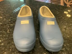 Hunter rain shoes Blue  10 Med